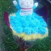 Buket Boneka Doraemon (14218629) di Kab. Kampar