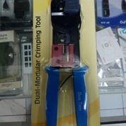 Tang Crimping Gaintech Double Proskit Pro Skit RJ45 RJ11 UTP LAN (14267351) di Kota Surabaya
