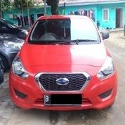 Nissan Datsun Go+ Mt Merah Metalik 2014 Jok 3baris Velg Resing