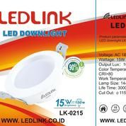 LEDLINK LED DOWNLIGHT 15 Watt 3000K