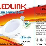LEDLINK LED DOWNLIGHT 15 Watt 6000K
