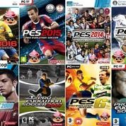 Kaset Game Pro Evolution Soccer (PES) Untuk Komputer PC Laptop
