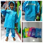 Jas Hujan Anak Polkadot Bintang (14379205) di Kota Denpasar