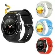 Great Smartwatch V8 Smart Wacht Pedometer Watch Android SmartWatch Android - Hitam