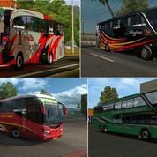 Bus Dan Truk SImulator Indonesia ETS2 Mod Indo Lengkap