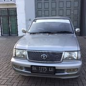 Toyota Kijang Lsx 1.8 Bensin Silver Metalic 2002 (14417911) di Kota Medan