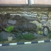 #D0007 PABRIK MASIH AKTIF DAERAH WARU DENGAN BANGUNAN RANGKA BAJA KUAT (14422201) di Kota Surabaya