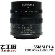 Lensa 7ARTISANS 55MM F1.4 FOR Mirrorless SONY E-MOUNT