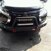 Bemper/Tanduk Depan Model Mini Overland Mitsubishi All New Pajero Sport (14427429) di Kota Jakarta Pusat