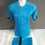 Baju Futsal Biru Terbaru