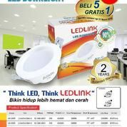 Promo LED Downlight 9 Watt 3000K Dan 6000K