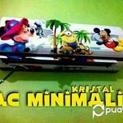 AC Minimalis Kristal 17 Watt 1.5 Pk Remote Mickey 3D (14499757) di Kota Jakarta Utara