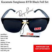 Kacamata Sunglasses Sport Sunglsses RYB Full Set Black