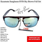 Kacamata Sunglasses Sport Sunglsses RYB Full Set Brown