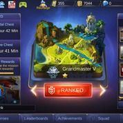 Akun Mobile Legends Grandmaster V Smurf
