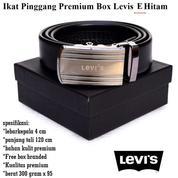 Grosir Ikat Pinggang Premium Levis Ee Hitam