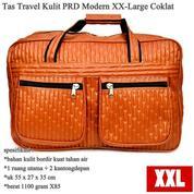 Tas Pakaian Besar Travel Kulit PRD Modern XX-Large Brown