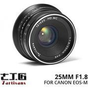 Lensa 7ARTISANS 25MM F1.8 FOR Mirrorless CANON EOS-M (14557933) di Kota Surabaya