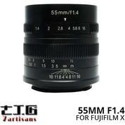 Lensa 7ARTISANS 55MM F1.4 FOR Mirrorless FUJIFILM X Mount Series