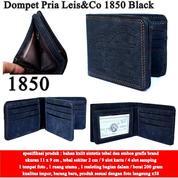 Dompet Pria Leis&Co Leather 1850 Black (14571253) di Kota Jakarta Pusat
