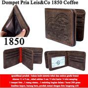 Dompet Pria Leis&Co Leather 1850 Coffeee (14571279) di Kota Jakarta Pusat