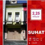 Ruko Bagus Luas 91 Di Poros Suhat Kota Malang (14587921) di Kota Malang
