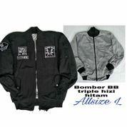 Jaket Bomber 3 Logo