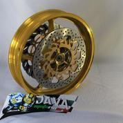 Velg Delkevic Depan Double Disc 3,5 X 17 Ninja 250-300 (14609181) di Kota Jakarta Barat