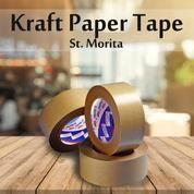 ST. MORITA - Kraft Tape 48mm X 50 M - Brown (14634757) di Kota Jakarta Timur