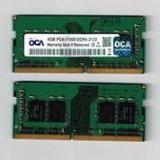 SODIMM 4GB DDR4 PC4-1700 2133 OCA RAM MEMORY LAPTOP (14644211) di Kota Surabaya