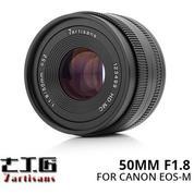 Lensa 7ARTISANS 50MM F1.8 FOR Mirrorless CANON EOS-M (14644703) di Kota Surabaya