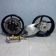 Pro Arm Ducati 848 Feat Velg Ducati Multustarda