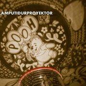 Lampu Tidur Proyektor Star Master Winnie The Pooh (Musik + Berputar) (14662465) di Kota Surabaya
