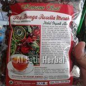Teh Bunga Rossela Merah