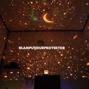 Lampu Tidur Proyektor Star Master Bulan Bintang (Musik + Berputar) (14663177) di Kota Bandung