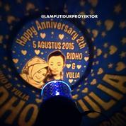 Lampu Tidur Proyektor Star Master Custom Foto Dan Tulisan (14665395) di Kota Surabaya