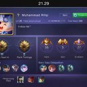 Akun Mobile Legend Allunbind Log Fb Cuman 10.000,