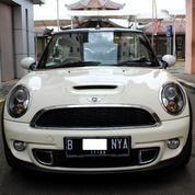 Mini Cooper S Turbo Cabriolet AT Putih 2012 Mobil MEWAH HARGA MURAH