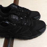 Sepatu Sneakers Original NINETEN 910 Kaza All Black