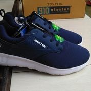 Sepatu Sneakers Original NINETEN 910 Kitaro Navy