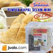 Pempek Kapal Selam 5 Sakana Bandung Frozen Food Makanan Beku Siap Saji
