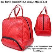 Tas Pakaian EXTRA BESAR Besar Kulit Klasik Modern Red (14787209) di Kota Jakarta Timur