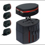 Barang Promosi Universal Travel Adapter UAR04 + Pouch (14789919) di Kota Tangerang