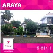 Rumah Mewah Luas 466 Di PBI Araya Kota Malang _ 160.18 (14794199) di Kota Malang