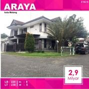 Rumah 2 Lantai Luas 238 Di PBI Araya Kota Malang _ 162.18 (14797279) di Kota Malang