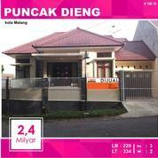Rumah Hook Luas 334 Di Puncak Dieng Kota Malang _ 169.18 (14798103) di Kota Malang