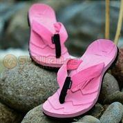 Sandal Gunung Suzuran Flip Flop Mr1 Full Pink