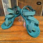 Sandal Gunung Suzuran Cross Thumb Mr1 Full Army Green