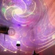 Lampu Tidur Proyektor Star Master Planet (Musik + Berputar)