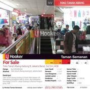 Toko Tanah Abang Gedung B, Jakarta Barat, 2x2.5m, HGB (14855725) di Kota Jakarta Barat